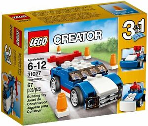 LEGO-Creator-31027-Blauer-Rennwagen-NEU-OVP
