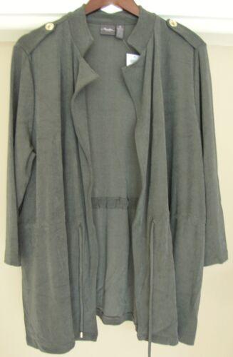 Cross Dye Jacket Chico's Størrelse 451007474880 Utility 2 New Classic L 12 M Travellers Træthed 14 ffOwA7