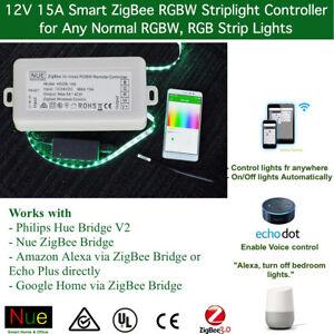 Zigbee Rgbw Led Strip Light Controller For Echo Plus