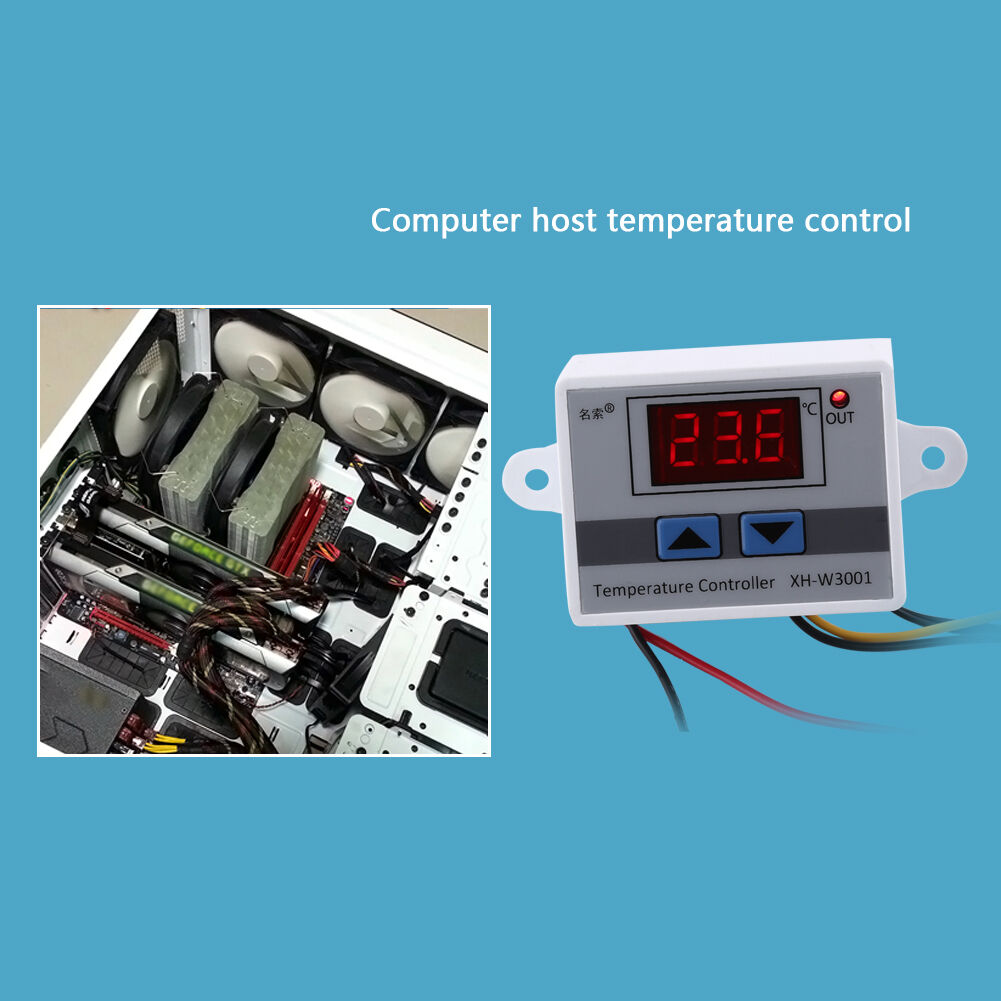 Elitech Stc 1000 Cooling And Heating Thermostat Temperature Wiring Diagram Stc1000 Temp Controller Brewing Equipment Gallery 220v Ebay