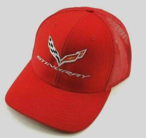 Hat Cap Licensed Chevrolet Chevy Corvette C7 C 7 Stingray Ladies Pink HR 237