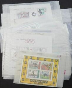 EDW1949SELL : WORLDWIDE 1984 Olympics Topical Nice collection of ALL DIFF VF MNH