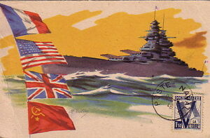 Carte Or Algerie Poste.Algerie Poste Navale Le 8 5 1946 Carte Postale Non Voyagee Ebay