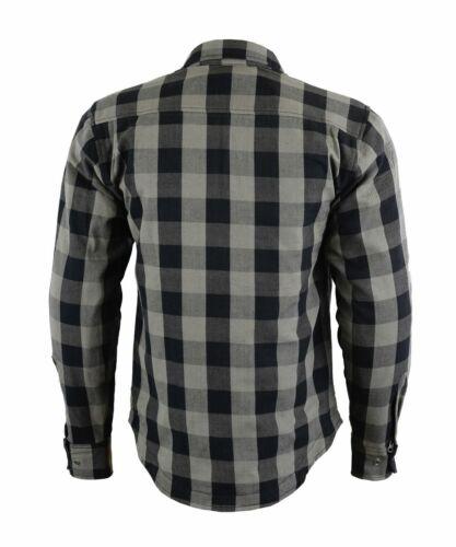 Motorrad Biker Holzfäller Hemd Shirt mit Aramid Herren Motorrad Aramid Hemd Neu