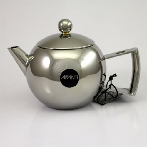AVANTI Mondo Stainless Steel 600ml 4 Cup Tea Pot 100/% Genuine RRP $159.00!