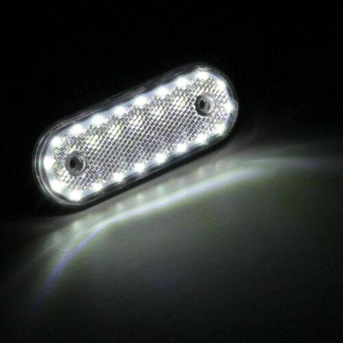 Car & Truck Light Bulbs Motors 2x White 20LED Car Trailer Truck ...
