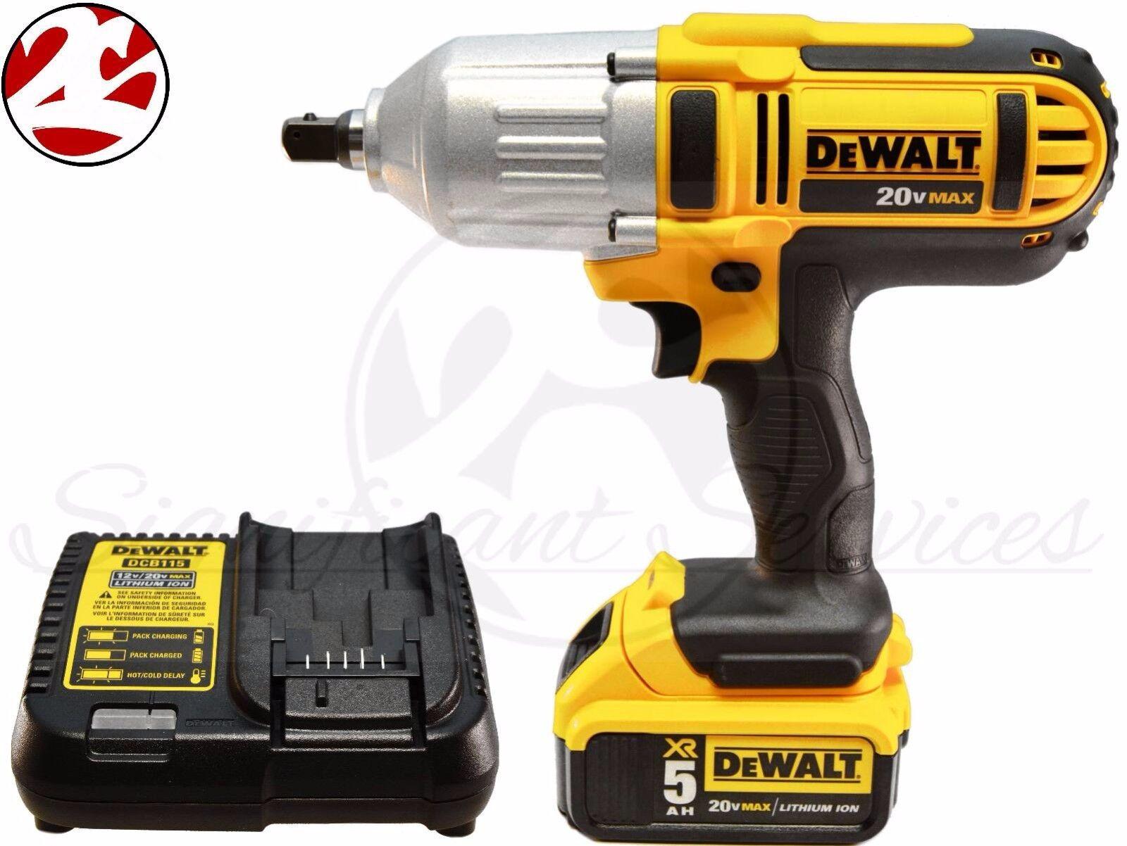 New DeWALT DCF889M2 20V MAX Lithium Ion Cordless 5.0 Ah 1/2