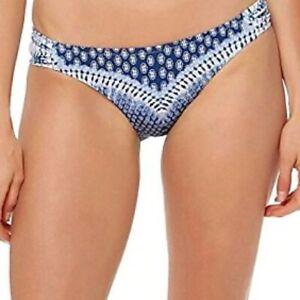 NWT Jessica Simpson Swimsuit Bikini Bottom Sz XL White Multi