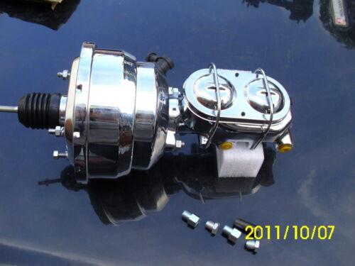 Holden HK-HT-HG NEW Zinc Power Brake Booster /& Master Cylinder Kit