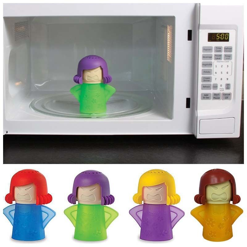 Microwave Oven Cleaner Home Kitchen Metro Angry Mama Cleanin