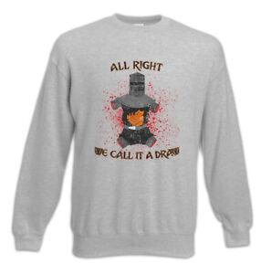 It Call Fun Black Pullover Kinght We Sweatshirt Holy Grail Draw Monty Python A q5wx0dC