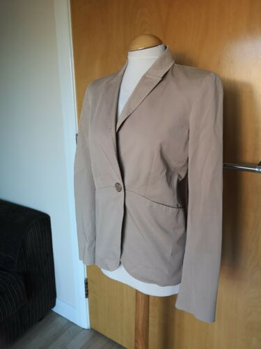 Office Blazer Jasje 12 Smart Maat Maxmara Dames Stone Cream Max Co Fitter wCqfnPZ