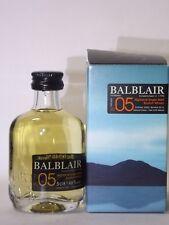 Whisky Balblair 2005 single malt 5cl 46 % vol. mini flasche bottle miniature