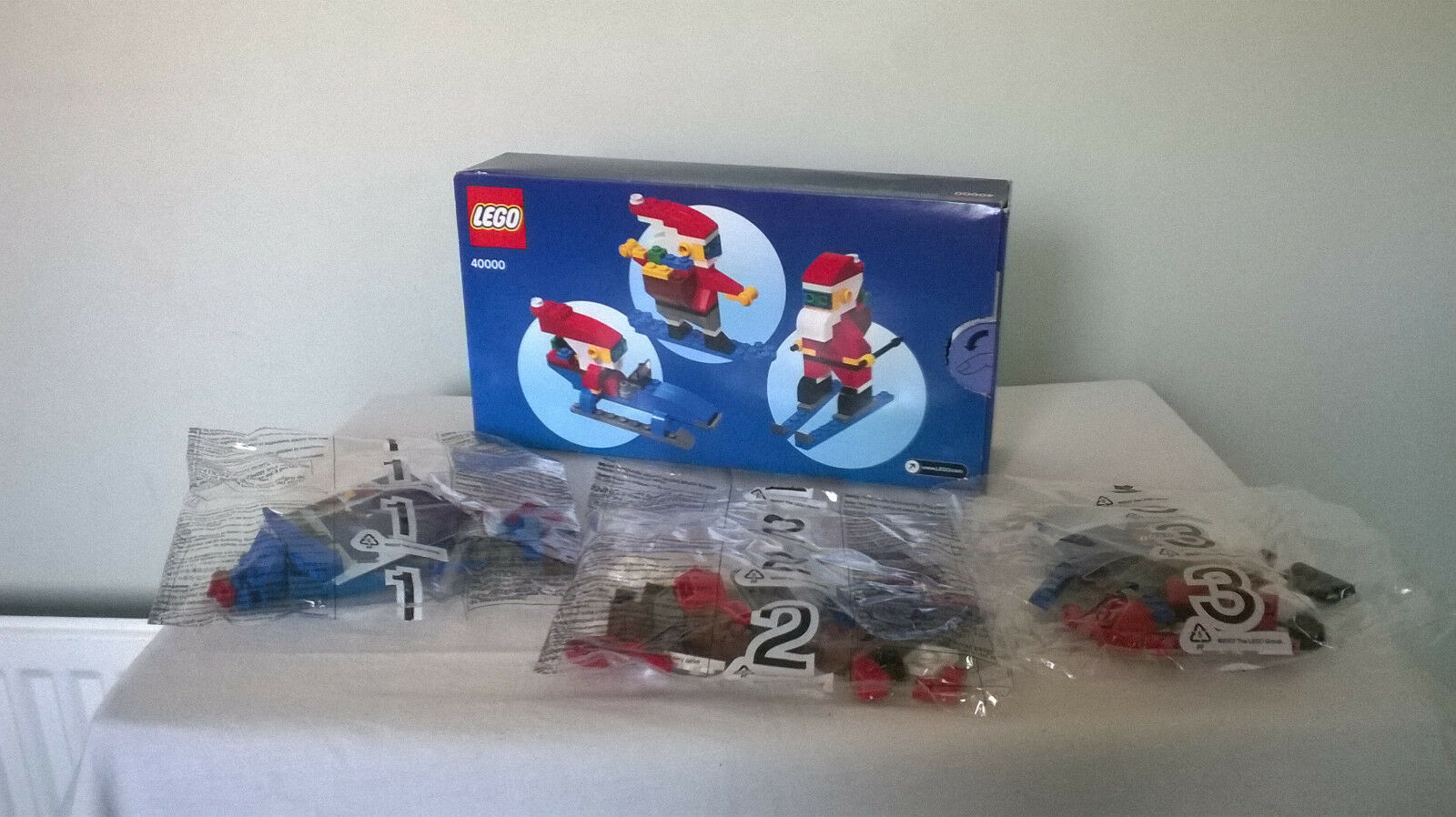 LEGO 40000 COOL SANTA SET 6+ 152 PIECES PIECES PIECES c39c9b