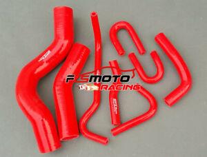 RED-For-Toyota-LandCruiser-200-Serie-VDJ200-4-5-V8-1VDFTV-Silicone-Radiator-Hose