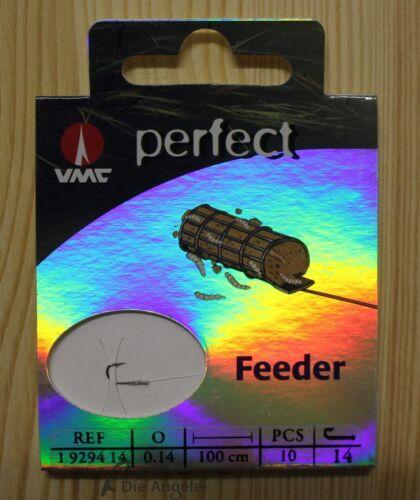 verschiedene Größen normale Haken gebundene Haken VMC Perfect Feederhaken