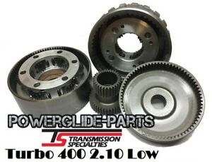 Details about TSI Turbo 400 TH-400 T-400 2 10 Low Gear Planetary Gearset 6  pinion Billet gears