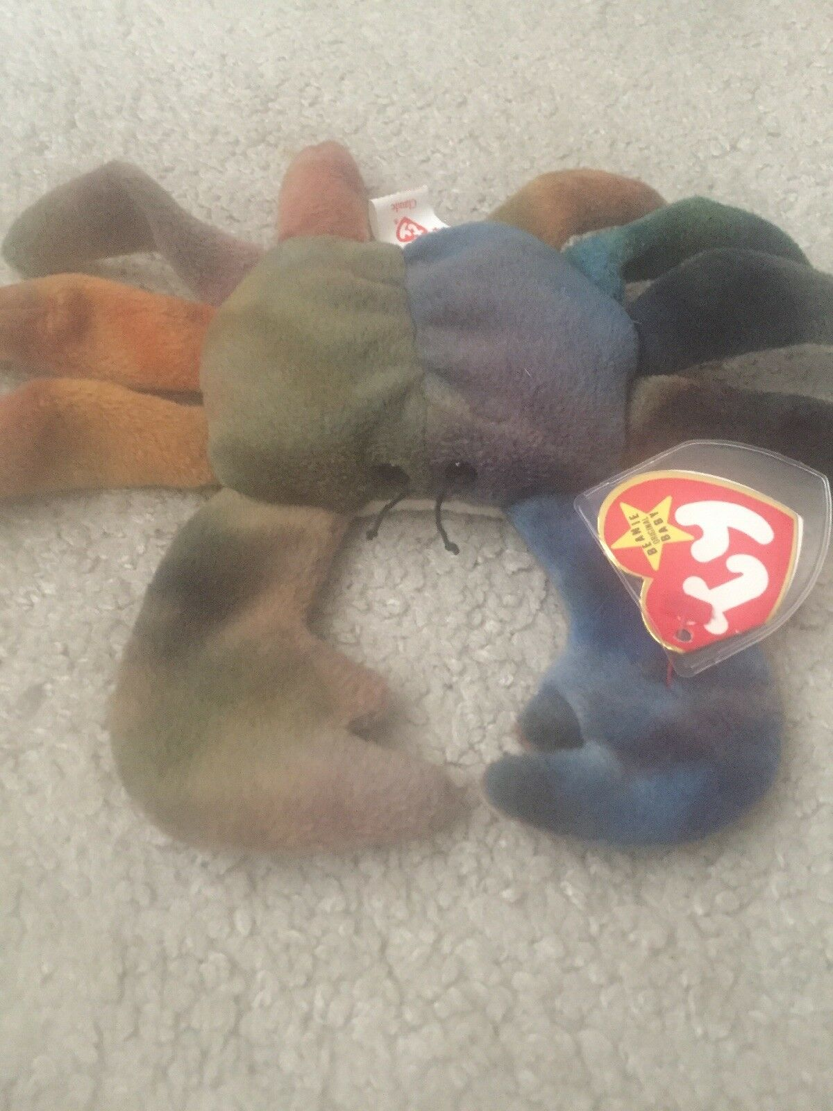 TY TY TY beanie baby  Claude the crab. Rare Retired. 5d7632