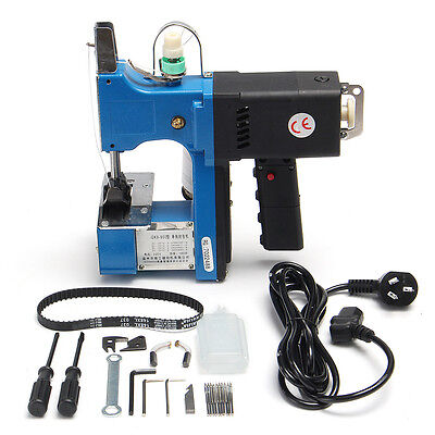 3ab0be1d5c 180W GK9-900 Portable Electric Bag Closer Sewing Sealing Stitching Machine  220V