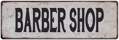HEN HOUSE Vintage Look Rustic Metal Sign Chic Retro 106180035057