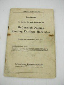 IHC Harvester Highlight Magazine McCormick Deering Ronning Ensilage Harvester