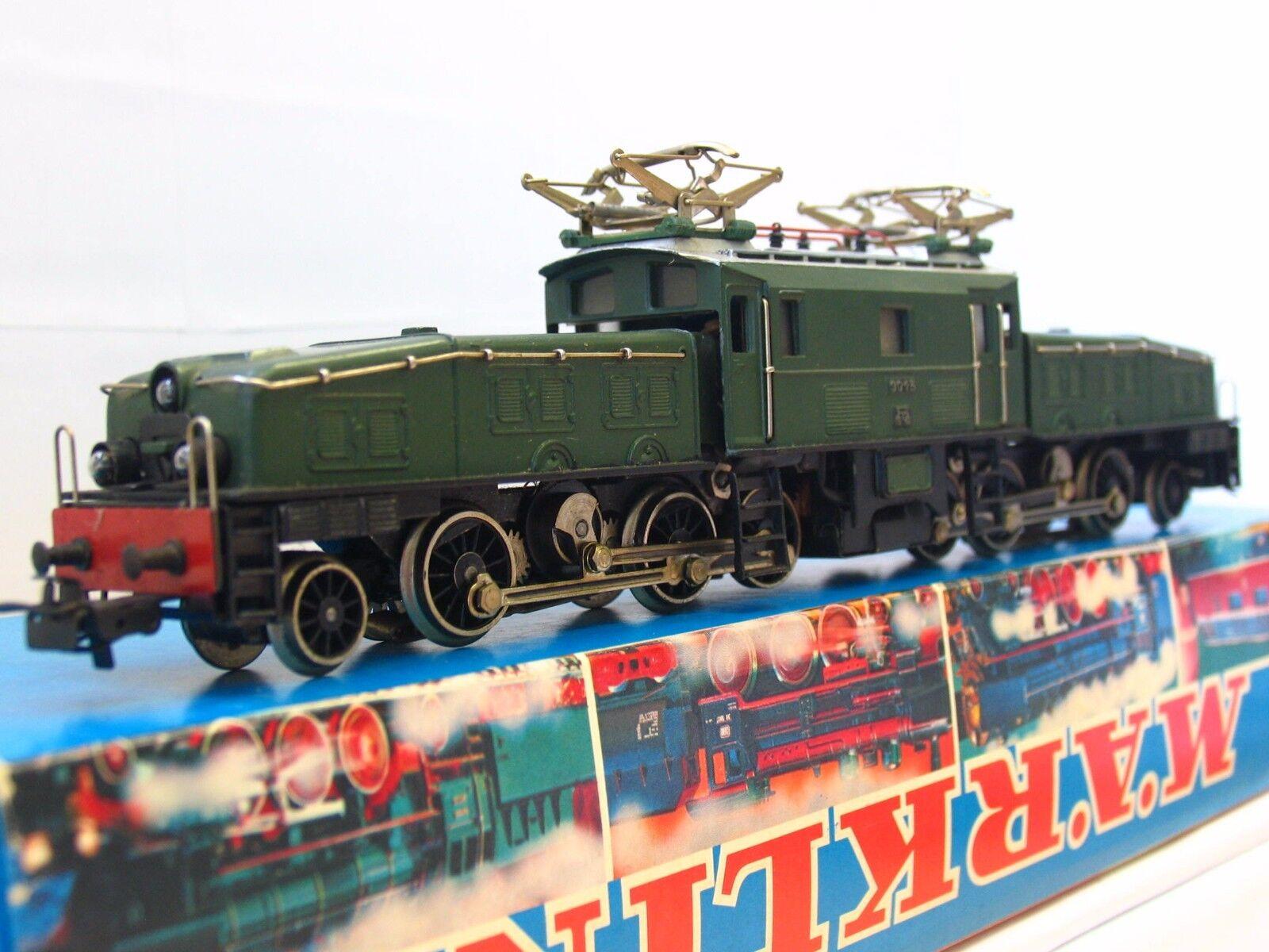 Märklin h0 3015 E-LOK Crocodile Green SBB OVP (tr937)