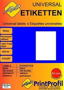 Etiketten-DIN-A4-Universal-Selbstklebend-10-Blatt