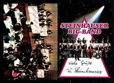 Steinhauser Big Band Autogrammkarte Original Signiert ## BC 78051