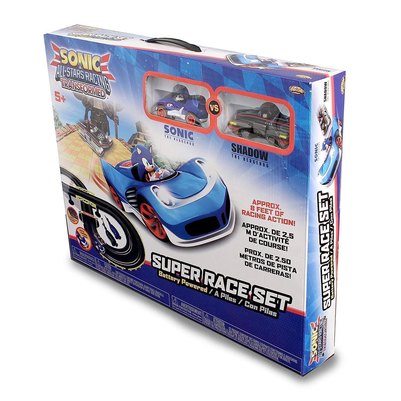 Sonic The Hedgehog All Star Racing Transformed Sonic  Shadow Track Set