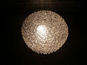 Image is loading A-VINTAGE-1960S-HELENA-TYNELL-GLASS-CEILING-LIGHT- & A VINTAGE 1960S HELENA TYNELL GLASS CEILING LIGHT FOR GLASHUTTE ...