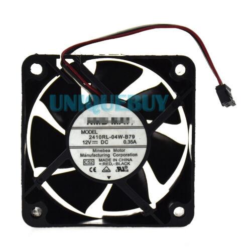 6CM 2410RL-04W-B79 12V for NMB Two Ball Bearing 0.35A Server fan