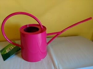 1//2 Gallon New Red Wonderful Classic Shape Galvanized Metal Watering Can