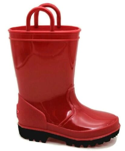 Toddler 5 to Big Kid 6 Girls or Boys WATERPROOF KIDS RAIN BOOTS Skadoo