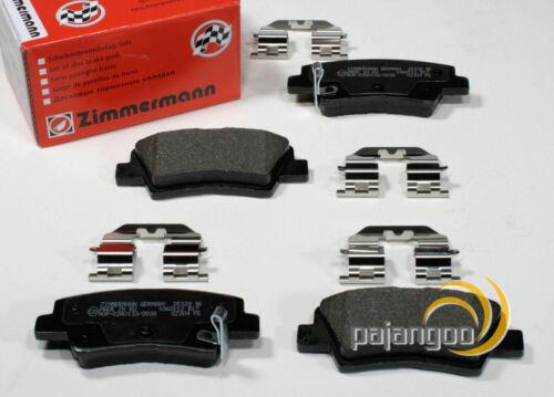 Zimmermann Bremsbeläge Bremsklötze für hinten die Hinterachse Kia Soul AM