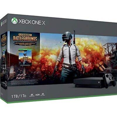 Microsoft Xbox One X Konsole 1TB PLAYERUNKNOWN'S BATTLEGROUNDS Bundle