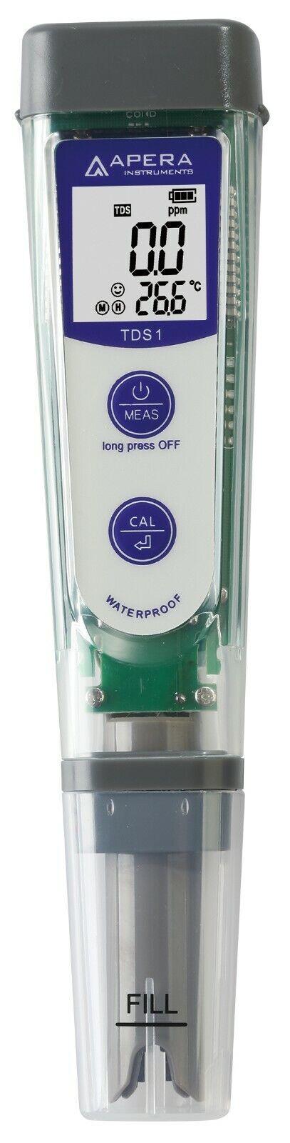 Apera Instruments tds1 TDS-mètre, Numérique Appareil de mesure avec affichage de la température