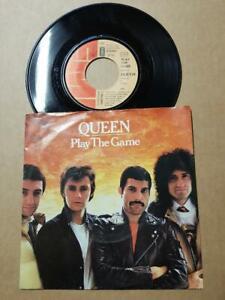 Queen-Play-The-Game-Vinyl-7-034-45-RPM-Single-D-1980-Sammlung-Rock