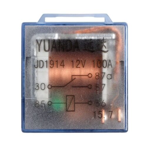 Waterproof Automotive Relay 12V 24V 100A 5pin SPDT Car Control Device Car Relays