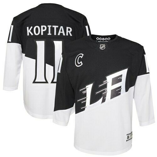 Anze Kopitar Los Angeles Kings Youth 2020 Stadium Series Premier Player Jersey -
