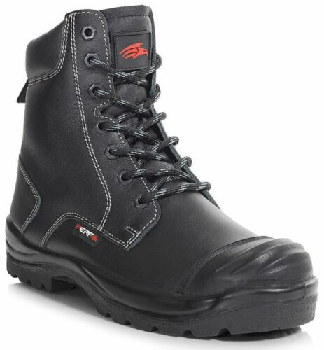 da in inossidabile uomo lavoro da pelle scarpa da acciaio uomo leggera scarpe nere in taglia La S3 scarpe ha leggera qFwtYPP