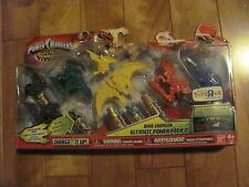 Power Rangers Dino Charger Ultimate Power Pack #2 TRU Bandai #97347 NEW