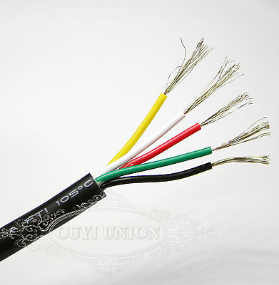 Agile  Points & Signal Cable Multicore Wire Small Power Data AUTO CAR 5 Cores