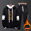 NEW-Mens-Michael-Air-23-Jordan-Tracksuit-Hoodie-and-Pants-Men-Sportswear thumbnail 5