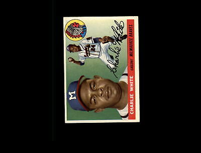 Sports Mem, Cards & Fan Shop Apprehensive 1955 Topps 103 Chuck White Rc Ex #d575575 Sale Overall Discount 50-70%