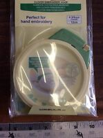 Clover Embroidery Hoop 8813-- 4 3/4 Inch Round
