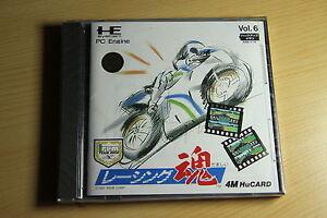 Racing-Damashii-NEC-PC-Engine-Hucard-import-JAP-neuf-new-neu