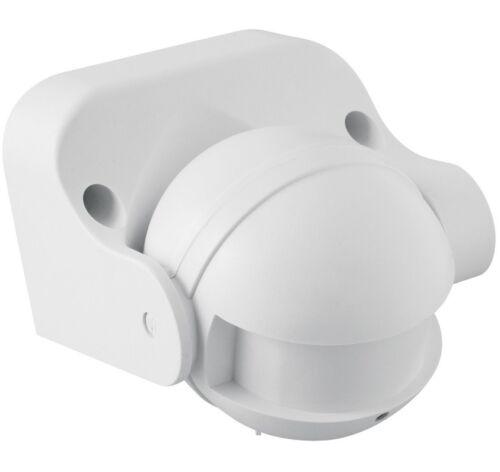 Mikrowellen Bewegungsmelder Aufputz Wand 180 Grad IP 44 1200W HF Sensor