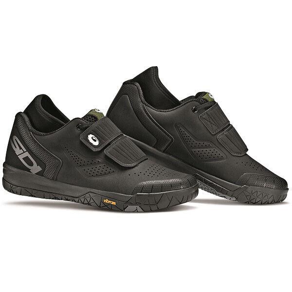 SIDI Dimaro MTB Mountainbike Schuhe Schwarz Schwarz Größe 42 EU