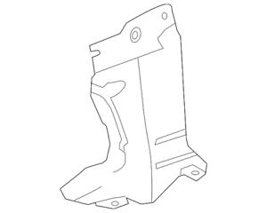Genuine Mazda Lado Shield BBM4-56-115C