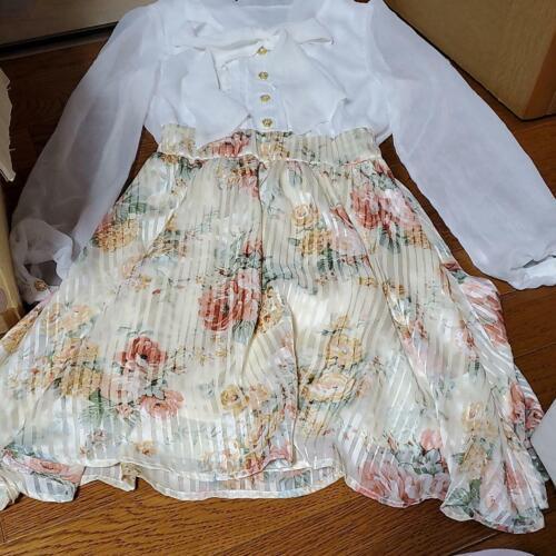 Yumetenbo Floral Ribbon Spring Dress